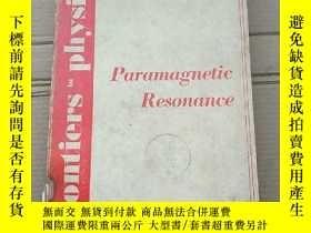 二手書博民逛書店paramagnetic罕見resonance(P1684)Y173412