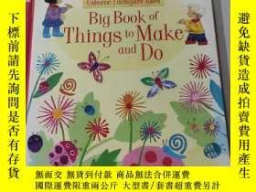 二手書博民逛書店Big罕見book of Things to make and Do:要做的事情的大書Y212829
