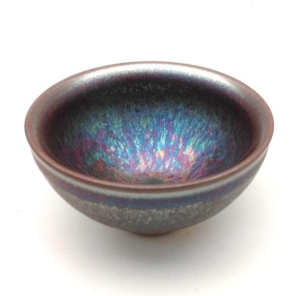 曜變紫藍金天目釉小杯【嚴選版】
