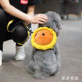 寵物背包泰迪書包小狗狗雙肩自背包牽引繩小型犬外出便攜包 QQ9263『東京衣社』