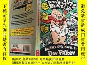 二手書博民逛書店another罕見epic novel by dav pilkey 達夫·皮爾基的另一部史詩小說Y200392