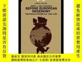 二手書博民逛書店歐洲霸權之前罕見MACAT解讀系列 英文原版 Before Eu