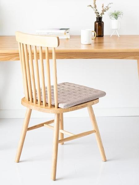 坐墊日式椅子凳子汽車辦公室椅墊座墊家用屁股墊墊子榻榻米餐椅墊 快速出貨