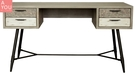 哈瓦那仿舊木紋4.6尺書桌(大台北地區免運費)【阿玉的家2020】