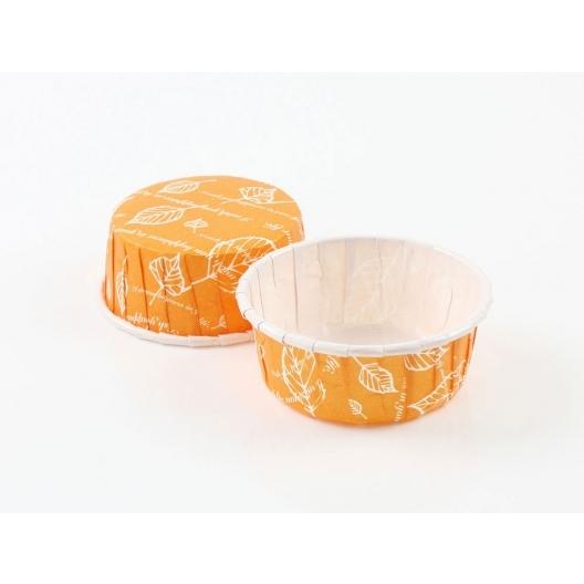 50入 捲口杯 瑪芬杯【F5524】紙杯 馬芬紙模 烘烤紙杯 杯子蛋糕 甜點杯 紙容器 此規格無蓋子