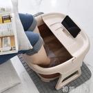 可摺疊泡腳桶塑料洗腳盆家用足浴盆便攜式過小腿按摩高深桶神器木 中秋節全館免運