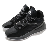 adidas 籃球鞋 D Rose 11 黑 白 男鞋 運動鞋 飆風玫瑰 【ACS】 FU7404