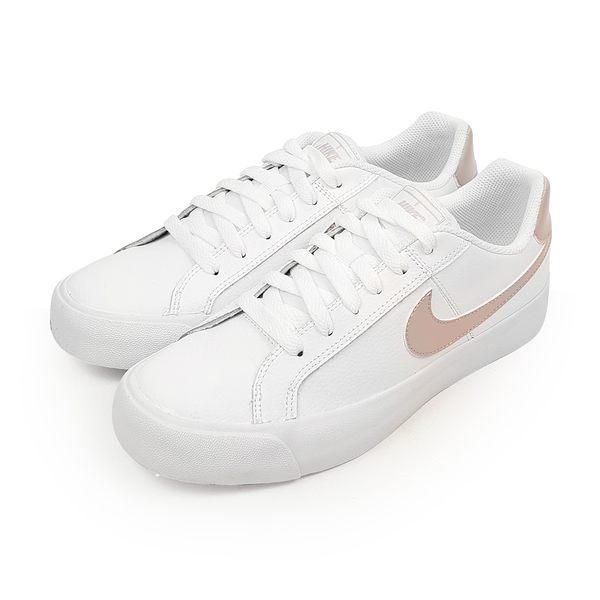 NIKE 女 WMNS NIKE COURT ROYALE AC 經典復古鞋 - AO2810103