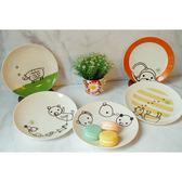 日本製小倉陶器加藤真治動物點心盤五件組-達可家居