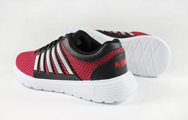 K-SWISS Motivate休閒運動鞋-男-紅/黑