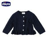 chicco-童話系列-混紡羊毛針織外套-青
