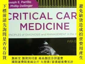 二手書博民逛書店英文原版罕見Critical Care Medicine: Pr