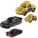 TOMICA 多美小汽車 STAR WARS 星際大戰系列 黑武士+C-3PO機器人