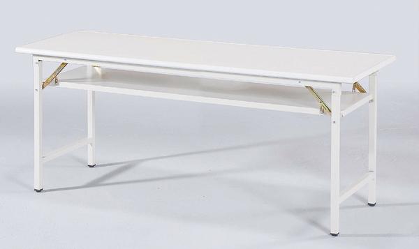 【IS空間美學】大理石灰塑鋼面會議桌(四款尺寸可選)