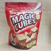 (馬來西亞零食)酷炫方塊巧克力威化餅 1包150公克【9556995130297】