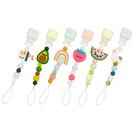 加拿大 Loulou lollipop 甜心版串珠固齒器/奶嘴鍊夾(6款可選)
