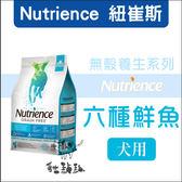 Nutrience 紐崔斯〔無穀養生犬,六種魚,5kg〕