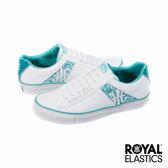 Royal Elastics Cruiser 潮流休閒鞋-白x冰藍x蕾絲