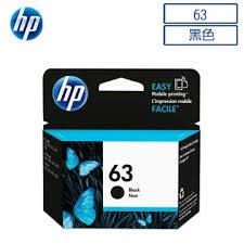 HP F6U62AA NO.63原廠黑色墨水匣 適用DJ3630/2180/2130/1110/ENVY4520/OJ3830/4650(原廠品)