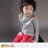 童裝 專櫃品牌流行童裝高領長袖T恤 魔法Baby