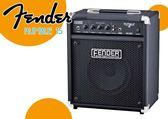 【小麥老師 樂器館】FENDER Rumble 15 v2 Bass Amplifier 15瓦 貝斯音箱 初學者首選