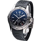 REVUE THOMMEN 梭曼飛官任務 機械腕錶-(16070.2834)黑面膠帶款