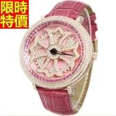 鑽錶-獨一無二明星款奢華女腕錶6色5j51【巴黎精品】