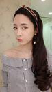 韓國製經典配色紅綠咖扭結髮箍髮圈寬版通販屋