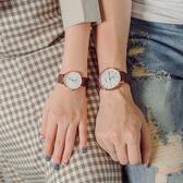 情侶對錶   情侶手錶一對手錶女簡約時尚潮流對錶防水男女士手錶