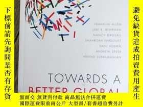 二手書博民逛書店Towards罕見a Better Global Economy ECONon【邁向更好的全球經濟】Y1505