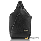 【BRAUN BUFFEL】BONVILLE 邦維爾系列胸包 - 黑色 BF360-22-BK