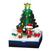 《 Nano Block 迷你積木 》NBH-168 聖誕樹(LED) ╭★ JOYBUS玩具百貨