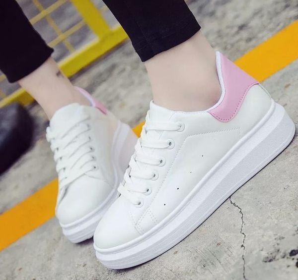 運動鞋 小白鞋 女休閑鞋 厚底板鞋   跑步鞋 【莎芭】現貨+預購
