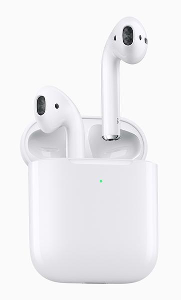 【現貨供應】APPLE AirPods 二代 藍芽耳機 搭配無線充電盒 原廠公司貨