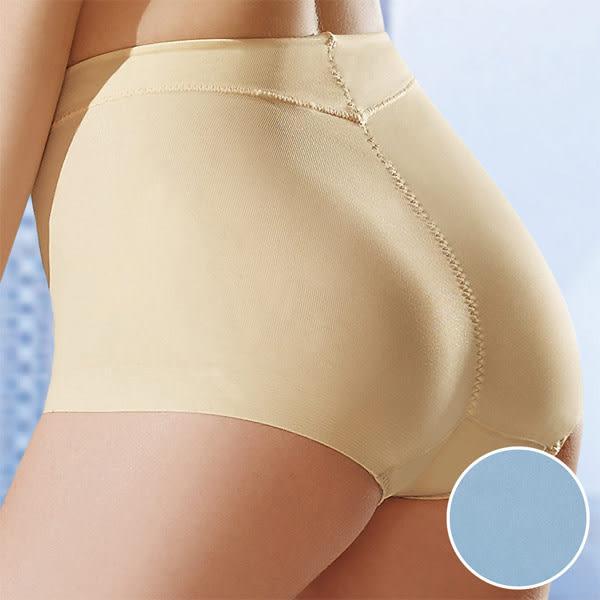 華歌爾-後腰修飾輕塑型64-90冰涼奇異高腰褲(海洋藍) NE1343-D1