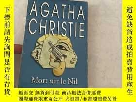 二手書博民逛書店AGATHA罕見CHRISTIE Mort sur le Nil