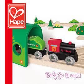 *babygo*Hape愛傑卡軌道系列-森林組合●德國品牌●木頭玩具●木製