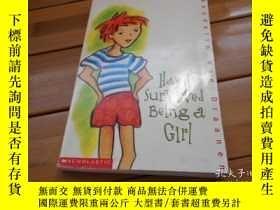二手書博民逛書店HOW罕見I SURVIVED BEING A GIRL 我是怎