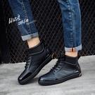 男士防滑低筒套鞋防水鞋 韓版雨鞋男生短筒時尚雨靴休閒釣魚鞋 降價兩天