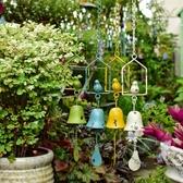悠閒小鳥~鐵藝復古懸掛風鈴 花園庭院裝飾鑄鐵鈴鐺 創意掛式雜貨 新北購物城