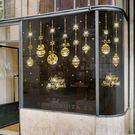 聖誕雪花 吊飾店鋪櫥窗玻璃貼紙聖誕節幼兒園節日氣氛裝飾門窗挂飾