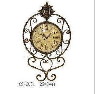 鐵藝單面鐘