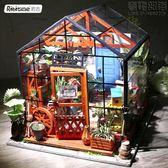 若態若來立體拼圖拼裝模型手工DIY小屋創意禮品禮物女生凱西花房