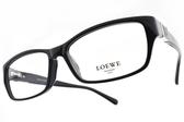 LOEWE 光學眼鏡 VLW816K 700 (黑) 率性膠框款 # 金橘眼鏡