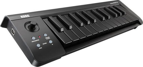 【金聲樂器廣場】 KORG microKey 25 鍵迷你鍵USB主控鍵盤 有黑 黑白