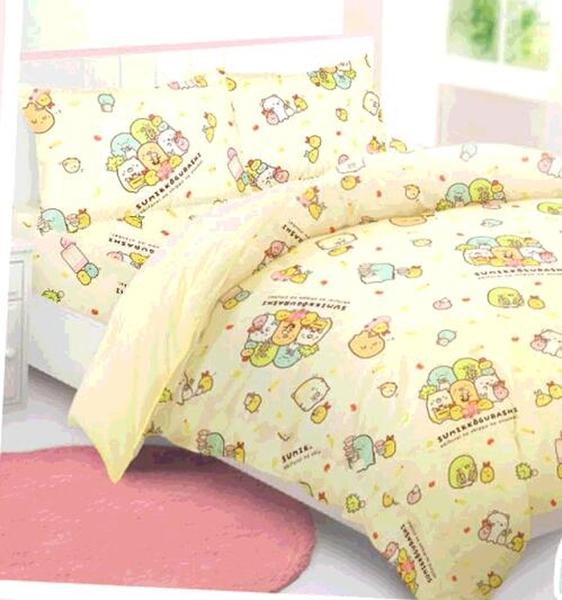 [COSCO代購] W131025 100% 純棉雙人兩用床包被套 4件組 - 角落小夥伴 購物日