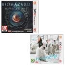現貨 3DS遊戲 惡靈古堡 啟示 +任天狗 + 貓與法國鬥牛犬和新朋友合購組 台灣機中文版【玩樂小熊】