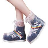 雨貝佳便攜式雨鞋套 防水鞋套 防滑耐磨鞋套上班戶外旅行男女通用 歌莉婭