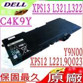 DELL電池(原廠)-戴爾  Y9N00,C4K9V,XPS 12 9Q23電池,9Q33電池,12-L221,XPS12D-1708,0PKH18,PKH18,WV7G0