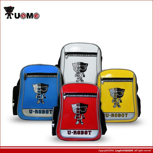 UnMe 機器貓款輕量兒童鏡面易背書包/小學生後背書包3233